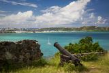 Fort Louis Overlooking Marigot Bay, Marigot, Saint Martin, West Indies Photographic Print by Brian Jannsen