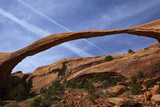 Utah, Devils Garden Area of Arches National Park, Landscape Arch Photographic Print by David Wall