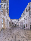 Croatia, Split, Diocletians Palace at Dawn Photographic Print by Rob Tilley