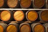 Australia, Fleurieu Peninsula, Mclaren Vale, Wine Barrels Photographic Print by Walter Bibikow