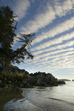 Canada, B.C, Vancouver Island. Clouds Above Tonquin Beach, Tofino Photographic Print by Kevin Oke