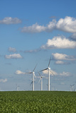 Minnesota, Dexter, Grand Meadow Wind Farm Photographic Print by Peter Hawkins