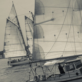 Massachusetts, Gloucester, Schooner Festival, Sail Boats Photographic Print by Walter Bibikow