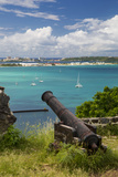Fort Louis Overlooking Marigot Bay, Marigot, Saint Martin, West Indies Photographic Print by Brian Jannsen