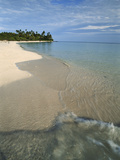 Maldives, Island Paradise, Ambara Island, View of Sand Beach Photographic Print by Stuart Westmorland