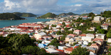 Charlotte Amalie, St. Thomas, U.S. Virgin Islands Reproduction photographique par Susan Degginger