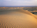 California, Imperial Sand Dunes, Patterns of Glamis Sand Dunes Photographic Print by Christopher Talbot Frank