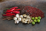 Bali, Indonesia. Balinese Spices Close Up Photographic Print by Charles Cecil