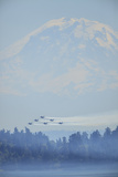 Airshow Blue Angels, Seafair Celebration, Seattle, Washington Photographic Print by Stuart Westmorland