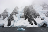 Antarctica. Lemaire Channel. Glacier Covered Mountains Photographic Print by Inger Hogstrom