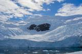 Antarctica. Neko Harbor. Glacier That Surrounds the Harbor Photographic Print by Inger Hogstrom