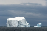 Antarctica. Bransfield Strait. Iceberg under Stormy Skies Photographic Print by Inger Hogstrom