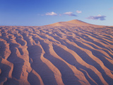 California, Dumont Dunes in the Mojave Desert at Sunset Photographic Print by Christopher Talbot Frank