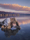 California, Sierra Nevada, a Tufa Formation on the Shore of Mono Lake Photographic Print by Christopher Talbot Frank