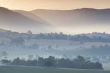Australia, Victoria, Yarra Valley, Landscape, Dawn Photographic Print by Walter Bibikow