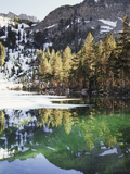 California, Inyo Nf, Emerald Lake in the Mammoth Lakes Basin Photographic Print by Christopher Talbot Frank