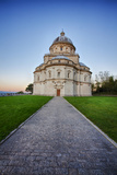 Morning Light on the Temple of Santa Maria Della Consolazione in Todi Photographic Print by Terry Eggers
