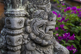 Bali, Indonesia. Dwarapala, Statue in the Kerta Gosa Compound Photographic Print by Charles Cecil