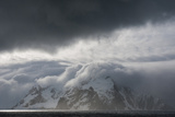 Antarctica. Bransfield Strait. Stormy Skies Photographic Print by Inger Hogstrom