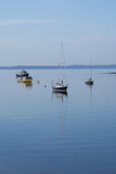 Canada, New Brunswick. Fishing Boats on Passamaquoddy Bay Photographic Print by Cindy Miller Hopkins
