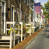 Colonial Architecture in Historic Annapolis, Md Photographic Print by Jerry Ginsberg