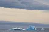 Antarctica. Brown Bluff. Bright Blue Iceberg Photographic Print by Inger Hogstrom