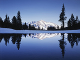 California, Yosemite National Park, Mammoth Peak and Tarn at Tioga Pass Photographic Print by Christopher Talbot Frank