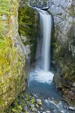 Christine Falls, Mount Rainier National Park, Washington, USA Photographic Print by Michel Hersen