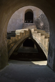 Yogyakarta, Java, Indonesia. Stairway in the Underground Mosque Photographic Print by Charles Cecil