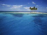 Micronesia, Tonowas, View of Idyllic Tropical Dublon Island Photographic Print by Stuart Westmorland