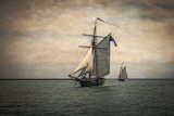 Tall Ships Festival, Digitally Altered Photographic Print by Rona Schwarz