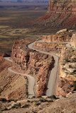 Utah, San Juan County, Moki Dugway Switchback Road, Cedar Mesa Photographic Print by David Wall