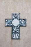 New Mexico, Laguna Mission. Cross in Mission San Jose De La Laguna Photographic Print by Luc Novovitch