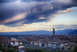 Florence as Viewed from Michael Angelo Overlook Florence Photographic Print by Terry Eggers