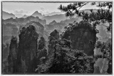 Mountain Landscape, Wulingyuan District, China Photographic Print by Darrell Gulin