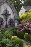 World War I Memorial Garden, Castle Combe, Wiltshire, England Photographic Print by Brian Jannsen