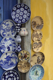 Asia, Vietnam. Ceramic Plates on Display, Hoi An, Quang Nam Province Photographic Print by Kevin Oke