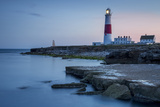Twilight at the Portland Bill Lighthouse, Dorset, England Photographic Print by Brian Jannsen