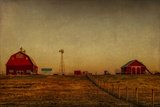 The Farm at Prophetstown State Park, Battleground, Indiana Photographic Print by Rona Schwarz