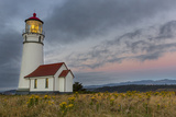 Oregons Oldest Lighthouse at Cape Blanco State Park, Oregon USA Photographic Print by Chuck Haney