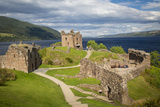 Urquhart Castle Along the Shores of Loch Ness, Highlands, Scotland Photographic Print by Brian Jannsen