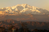 India, West Bengal, Singalila National Park, Sandakfu, Snowcapped Kangchenjunga Photographic Print by Anthony Asael