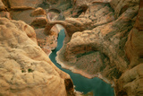 Rainbow Bridge over Lake Powell, Glen Canyon Recreation Area, Arizona Photographic Print by Thomas Wiewandt