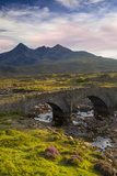 Brian Jannsen - Stone Bridge over River Slichagan, Slichagan, Isle of Skye, Scotland Fotografická reprodukce