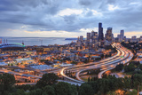 View from Beacon Hill, Pacific Med Center, Seattle, Wa Photographic Print by Stuart Westmorland