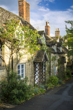Row of Cottages in Winchcombe, Gloucestershire, England Photographic Print by Brian Jannsen