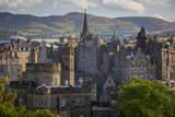 Old St Andrews House and Buildings of Edinburgh, Scotland Photographic Print by Brian Jannsen