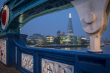 River Thames, the Shard, City Hall before Dawn, London, England Photographic Print by Brian Jannsen