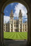 All Souls College, Oxford, Oxfordshire, England Photographic Print by Brian Jannsen