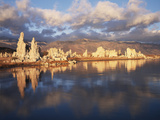 California, Sierra Nevada, Tufa Formations on Mono Lake Photographic Print by Christopher Talbot Frank